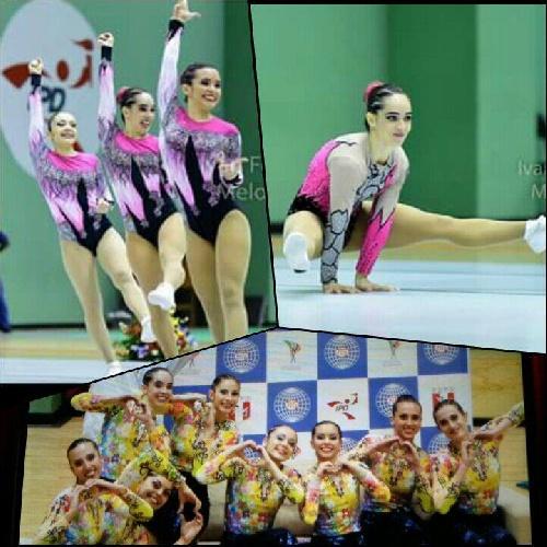 Gimnastas piguenses en equipo y Sol en individual protagonizan las finales del Campeonato Sudamericano de Gimnasia aeróbica en Perú