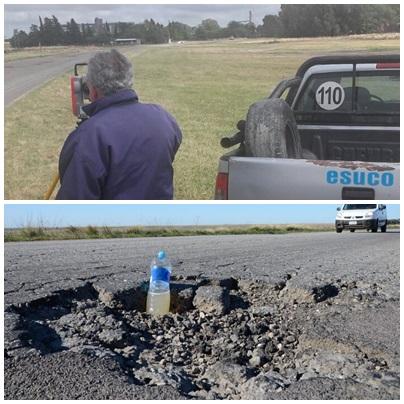 Esta vez es cierto: comenzó la repavimentación a nueva de la ruta provincial 67 entre Puan y Pigüé