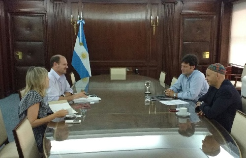El ministro Bergman mantuvo un encuentro con un representante de la FAO