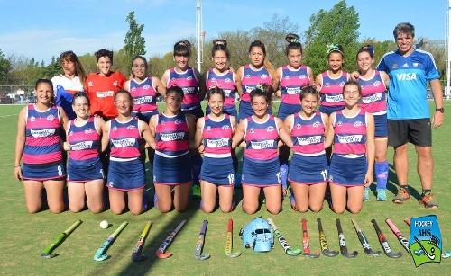 Hockey Femenino - Victorias en todas las categorías del CEF 83 en el comienzo del Torneo. Sarmiento se quedó con el clásico en sexta.