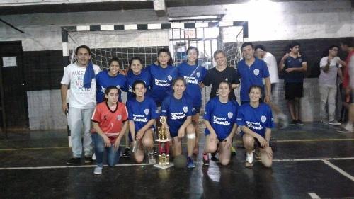 Handball Femenino - Club Sarmiento (Damas Mayores) SubCampeón en Olavarría.