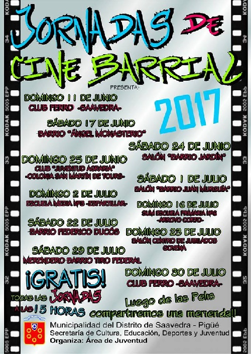 Jornadas de Cine Barrial