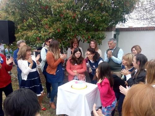 El Centro de Atencion Temprana del Desarrollo Infantil de Pigüé celebró su vigésimo quinto aniversario