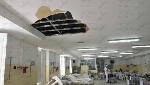 El Hospital de Niños bonaerense se cae a pedazos