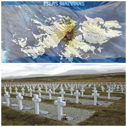 En homenaje a los compatriotas de Malvinas
