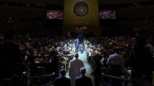 El discurso ante la ONU | El Papa Francisco recitó el Martín Fierro y fue ovacionado