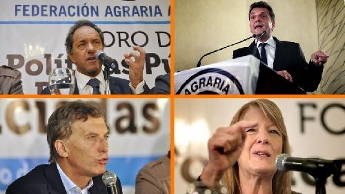 Federación Agraria Argentina: Macri, Scioli, Massa y Stolbizer expusieron sus propuestas para pequeños productores y economías regionales en el  Foro