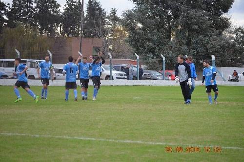 Liga Cultural Tres Lomas - El Ceibo con Sergio Lavernhe empató ante Garré dos a dos.