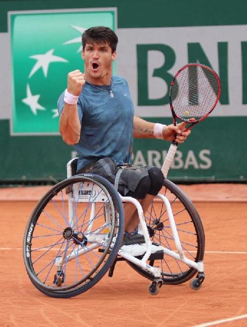 Alegría argentina en Roland Garros: Gustavo Fernández, campeón de tenis adaptado