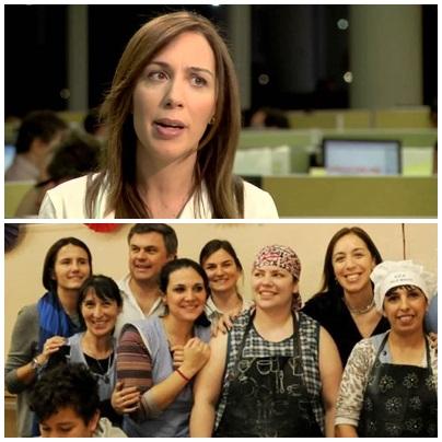 La gobernadora Vidal anunció un nuevo paquete de 318 millones de pesos para asistencia social a las familias más vulnerables