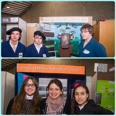 Jovenes del Distrito en el Provincial de la Ferias de Ciencias