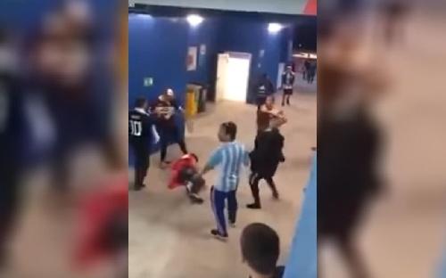 Récord que avergüenza: Argentina el país con más hinchas expulsados en los últimos cuatro mundiales