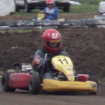 Karting - Excelente fin de semana de Martín Mombelli en Saavedra.