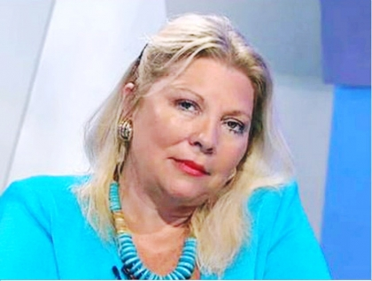 Denuncia de Elisa Carrió contra el ex gobernador  Scioli en la Justicia por presunto lavado de activos, defraudación y enriquecimiento