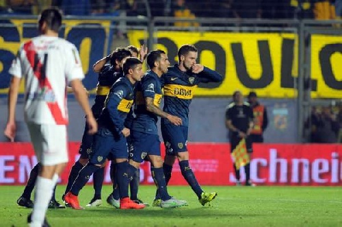 Copa Argentina .- Boca demostró una marcada superioridad.