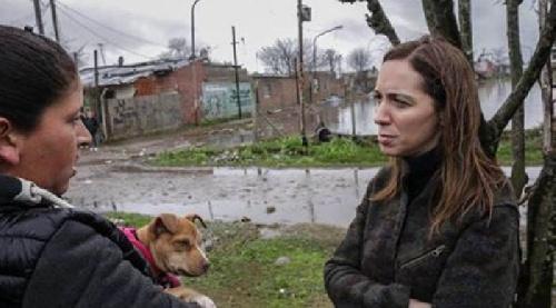 """MARIA EUGENIA VIDAL: """"OBSCENO FUE LA AUSENCIA DE LA PRESIDENTA EN LAS INUNDACIONES"""""""