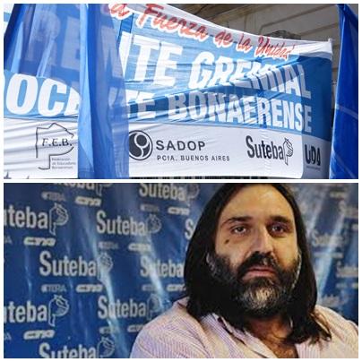 """SUTEBA: """"El gobierno de Vidal le falta el respeto a la sociedad"""""""
