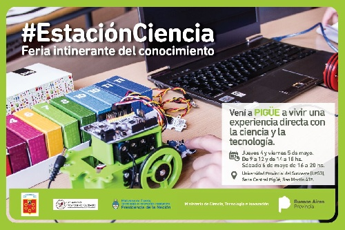 """"""" Estación Ciencia """" en UPSO Pigüé"""