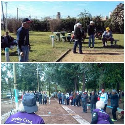 Adultos Mayores: Jornada de Tejo en Pigüé