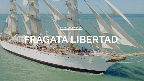 Cómo seguir la travesía de la Fragata Libertad por los mares del mundo en tiempo real - Visita virtual