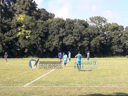 Nacional B - Almagro con Marcos Litre jugó otro amistoso en Pontevedra.