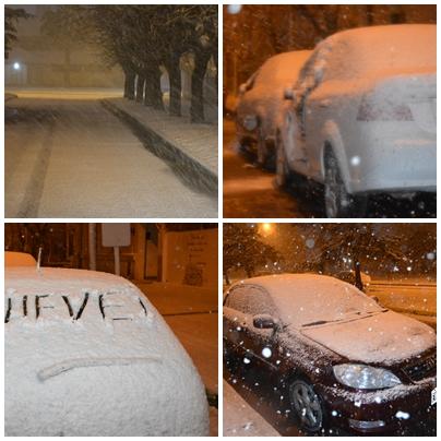 TORNQUIST : Nieve – Ya  a las 23:00 hs está cortada la ruta provincial 76