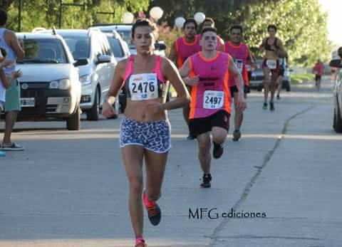 Primer puesto en Damas para la pigüense Yani Clair en la maratón de Bonifacio.