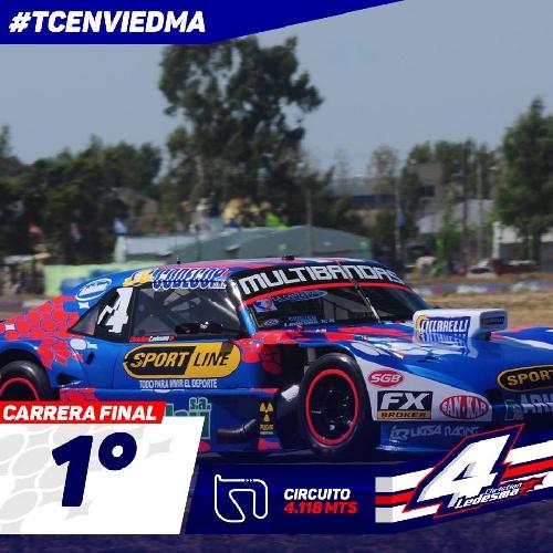 Turismo Carretera - Ledesma ganador en Viedma de punta a punta - Werner y Mazzacane completaron el podio.