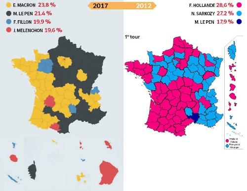 Francia: Elecciones presidenciales a segunda vuelta