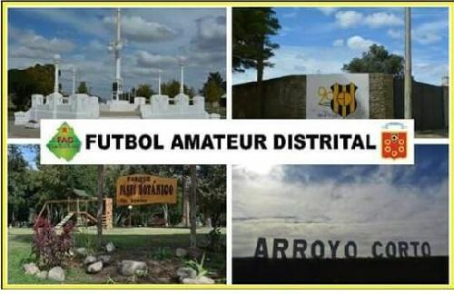 Futbol Amateur Municipal ( FAD) Domingo  en Arroyo Corto y Sabado ( mayores de 50)