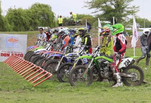 Motocross: Podio del piguense  Ezequiel Strack en Trenque Lauquen