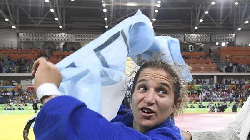 JJOO . Paula Pareto la primer medalla de oro para nuestro país en Río.