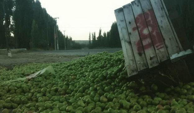 Fruta podrida. Más reclamos por las economías regionales