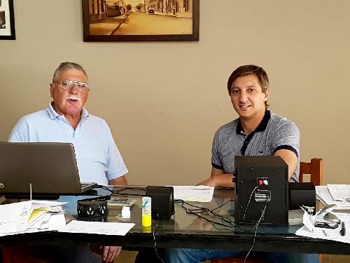 Reunión del Senador Lopez y Notararigo
