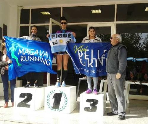 Atletismo - Yani Clair se quedó con el 1° lugar de los 5 k en Tres Lomas.