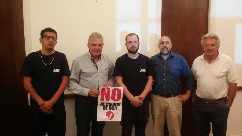 Linares acompaña el reclamo de los Trabajadores de AGR-Clarín