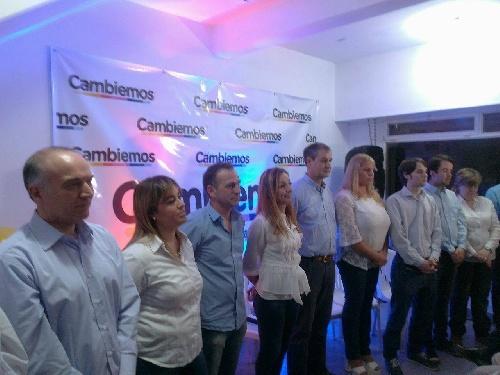 CAMBIEMOS JUNTOS SAAVEDRA presentó su lista de candidatos