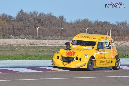 Formula 3CV - Pole Position para el pigüense Bruno González en el Ciudad de Pigüé.