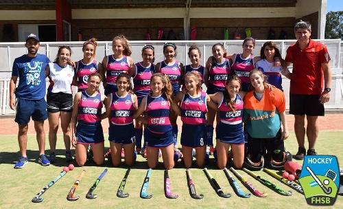 Hockey Femenino - En sub 16, Cef 83 culminó 10° en Bahía Blanca.