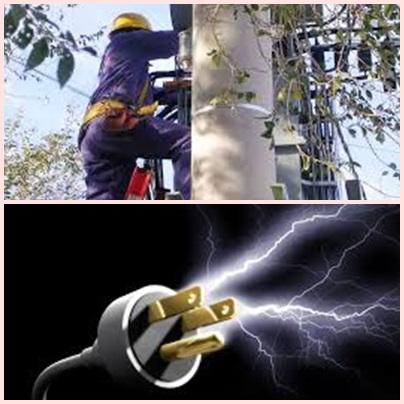 Pigüé corte de energia eléctrica
