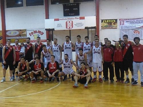 Basquet Federal - Importante victoria de River en San Justo - 9 puntos de Fric.