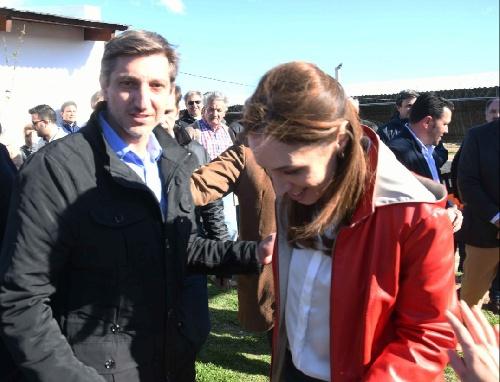 Notararigo con Macri y Vidal en Olivos