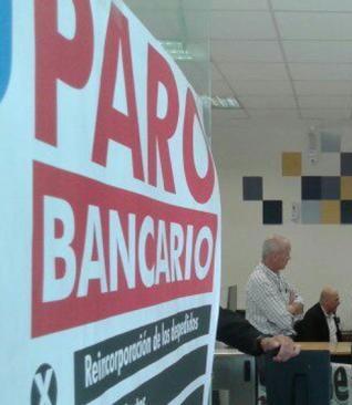 La Bancaria convoca a paro ultimas dos horas atención miercoles 28 y jueves 29 septiembre