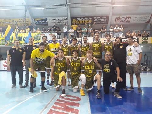 Basquet Santa Fe - Buena actuación de Biscaychipy en la derrota de Ceci ante Sport Club.