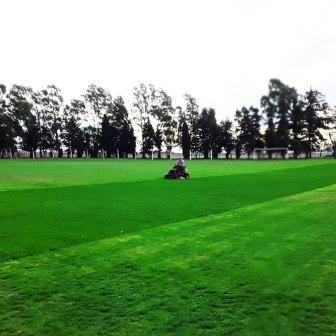 Arduo trabajo de la gente de Deportivo Arroyocortense mejorando su predio.