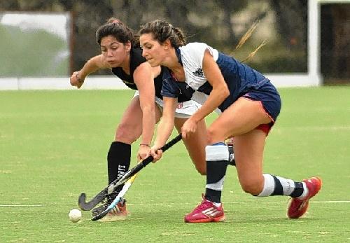 Hockey Femenino - Excelente gestión de Ivana Masars para dos goleadas de Atlético Monte Hermoso.