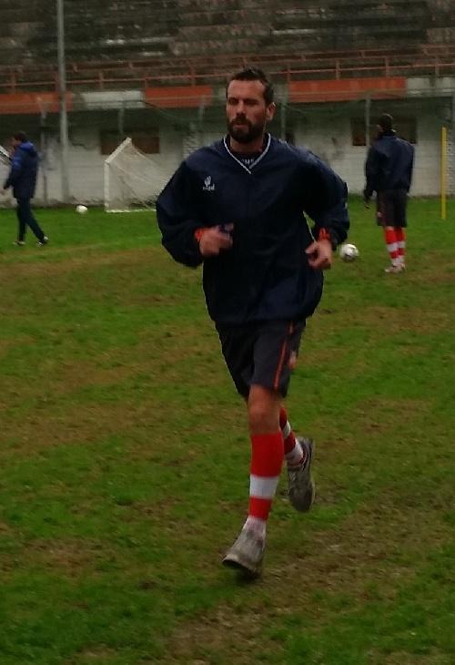 Calcio Serie C - Max Ginobili comenzó su etápa de recuperación.