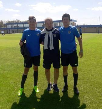 El juvenil Tomás Servian hará la pretemporada con la 7ma de Boca Juniors.