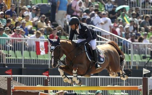 Rio 2016 :El argentino Albarracín clasificó a la final de equitación olimpica