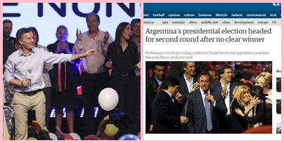 Cambiemos con Macri frenan al kirchnerismo y fuerza una histórica segunda vuelta